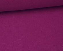 Canvas Stoff - feste Baumwolle - Uni - 145cm - Violett