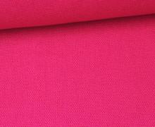 Canvas Stoff - feste Baumwolle - Uni - 145cm - Magenta