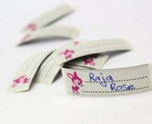 1 Label zum aufbügeln – Rehkitz – Namensetikett
