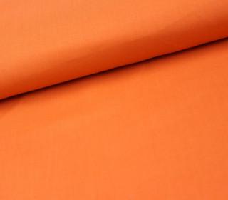 Schöner Baumwollstoff - Uni - Orange - 140cm
