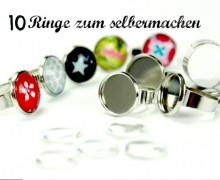 10 Ringe - DIY Set - zum selbermachen