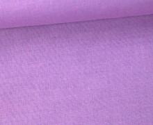 Schöner Baumwollstoff - Uni - 140cm - Lavendel