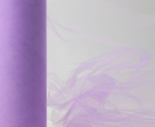 3 Meter Tüll - 22,5cm breit - Lavendel