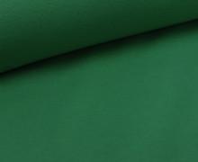 Glattes Bündchen - Schlauchware - Grün