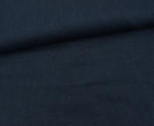 Leinen - gewaschen - Waschleinen - Schwarzblau