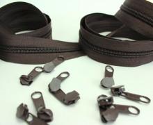 2m Endlosreißverschluss *B*+10 Zipper - Schokobraun (304)