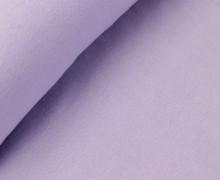 Glattes Bündchen - Schlauchware - Lavendel