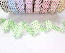 3m Schrägband - Punkte - Grün