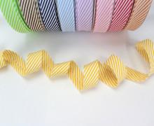 3m Schrägband - Streifen - Gelb