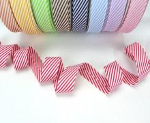 3m Schrägband - Streifen - Pink