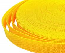 1 Meter Gurtband - Gelb (111) - 20mm