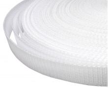 1 Meter Gurtband - Weiß (101) - 20mm