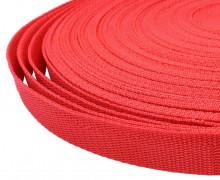 1 Meter Gurtband - Rot (148) - 20mm