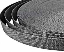 1 Meter Gurtband - Graphitgrau (319) - 20mm