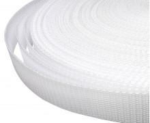 1 Meter Gurtband - Weiß (101) - 25mm