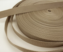 1 Meter Gurtband - Beige (307) - 25mm