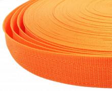 1 Meter Gurtband - Orange (157) - 30mm