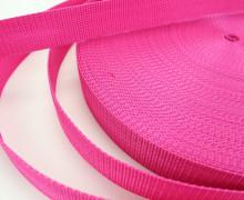 1 Meter Gurtband - Pink (146) - 30mm