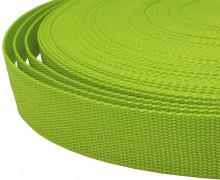 1 Meter Gurtband - Apfelgrün (234) - 40mm
