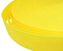 1 Meter Gurtband - Zitronengelb (110) - 40mm