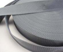 1 Meter Gurtband - Hellgrau (316) - 40mm