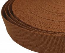 1 Meter Gurtband - Braun (299) - 40mm