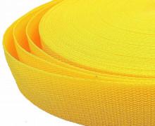 1 Meter Gurtband – Gelb (111) – 40mm