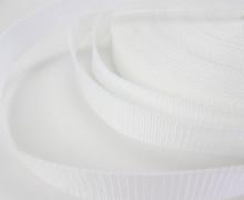 1 Meter Gurtband - Weiß (101) - 30mm