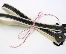 Taschengriffe Blumen - 2 Taschengriffe - 51cm