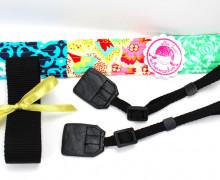 Kameraband Set - DIY - Kameragurt - Schwarz