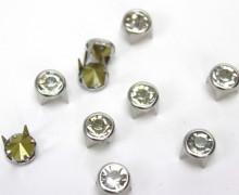 10 Strassnieten - Silber - Nieten