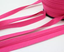 3 Meter elastisches Schrägband - 15mm - Jersey - Pink