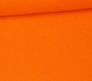Canvas Stoff - feste Baumwolle - Uni - 145cm - Orange