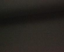 Canvas Stoff - feste Baumwolle - Uni - 145cm - Dunkelbraun