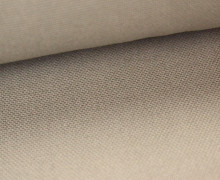 Canvas Stoff - feste Baumwolle - Uni - 145cm - Sand