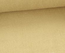 Canvas Stoff - feste Baumwolle - Uni - 145cm - Dunkelcreme