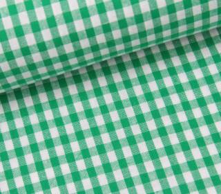 Vichy Stoff - Mittlere Karos - 4mm x 5mm - Grün