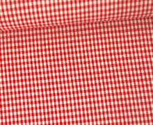 Vichy Stoff - Kleine Karos - 2mm x 2mm - Rot