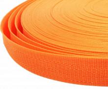 1 Meter Gurtband - Orange (157) - 25mm