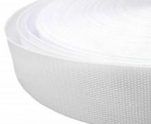 1 Meter Gurtband - Weiß (101) - 40mm