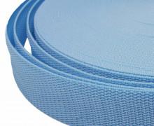 1 Meter Gurtband - Hellblau (183) - 40mm