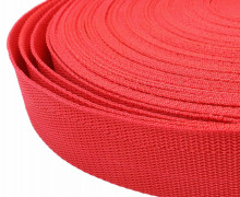 1 Meter Gurtband - Rot (148) - 40mm