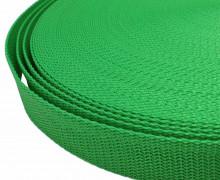 1 Meter Gurtband - Froschgrün (240) - 25mm