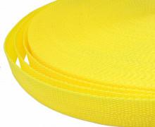 1 Meter Gurtband - Zitronengelb (110) - 20mm