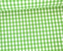 Vichy Stoff - Mittlere Karos - 4mm x 5mm - Hellgrün