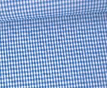 Vichy Stoff - Kleine Karos - 2mm x 2mm - Blau