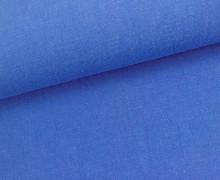 Leinen - gewaschen - Waschleinen - Königsblau