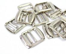 10 Schieber aus Metall für 20mm Band