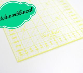 Patchworklineal 16cm x 60cm -  Quadratlineal