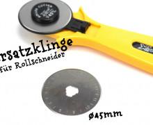 Ersatzklinge für Rollschneider - Rollmesser ø45mm